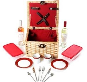 Greenfiled Deluxe Picknickkorb für 2
