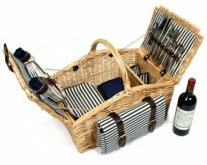 Greenfield Picknickkorb für 4