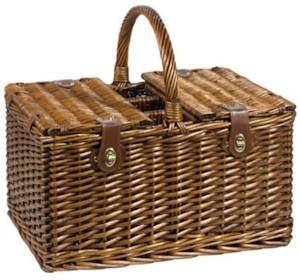 Picknickkorb mit Decke für 4 Personen