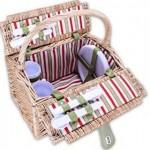 OutdoorChiefII® Picknickkorb für 4 Personen