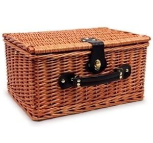 Picknickkorb Retro für 2