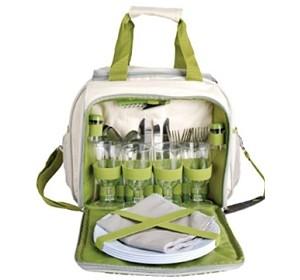 Esschert Picknicktasche für 4