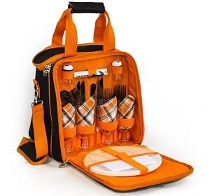 FUXTEC Picknicktasche für 4