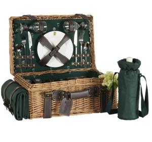 Picknickkorb mit Luxus