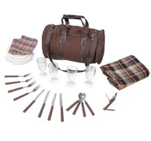 4 Personen Picknicktasche von Inspirion