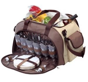 Picknicktasche für 6 Personen von elasto
