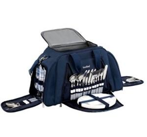 VonShef Picknicktasche für 6 Personen