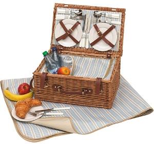 Madison Park Picknickkorb für 4