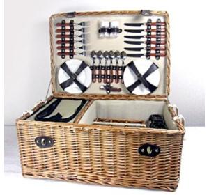 Luxus Picknickkorb für 6