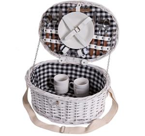 Picknickkorb für 2 Personen von eGenuss