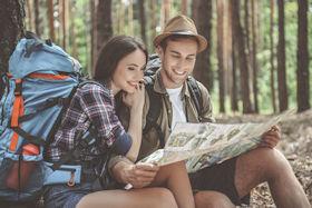 Picknick und Wanderung mit Picknick Rucksack